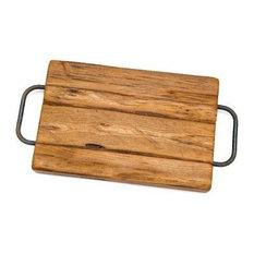 "Farmhouse Cutting Board 1, 19"", Handles on the Edge"