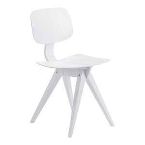 Mosquito Dining Chair, White