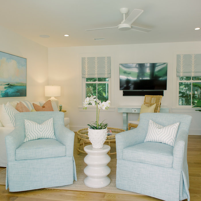 Laura Boyd Interior Design | Old Village Charleston Pool House