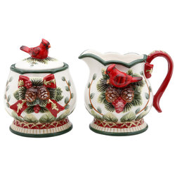 Traditional Sugar Bowls And Creamers by Cosmos Gifts Corp.