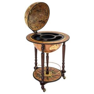 Da Vinci Rust Italian Bar Globe