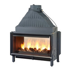 - Cheminees Philippe Fireplaces - double sided fireplaces - Indoor Fireplaces
