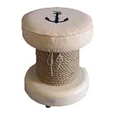 Stool With Anchor and Fishermans's Rope