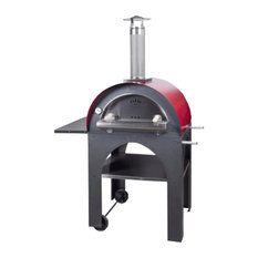 Pulcinella  Pizza Oven w/ Red Roof