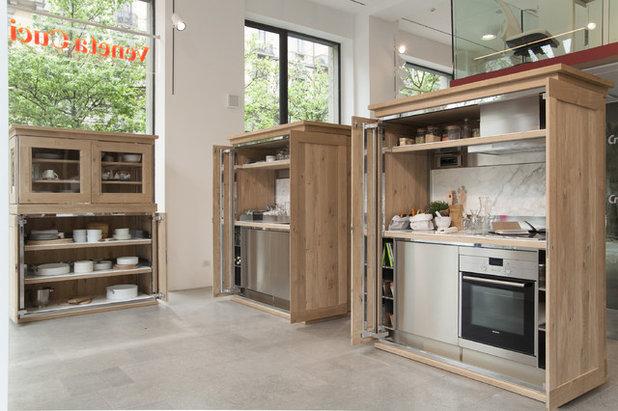 Eclectic Kitchen Credenza by Veneta Cucine, design Michele De Lucchi - EuroCucina 2016