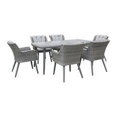 Florence 7-Piece Outdoor Dining Set
