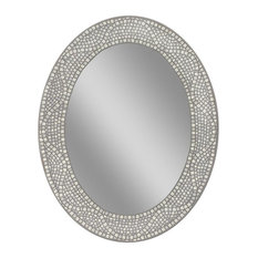 Bon 1st Avenue   Miranda Oval Mirror   Bathroom Mirrors