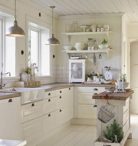 Foto e idee per arredare casa shabby chic style san luis for Cuisine style romantique