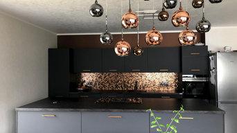 Modernisierung einer Küche