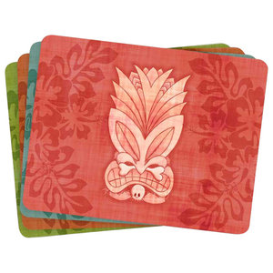 Tiki Placemats, Set of 4