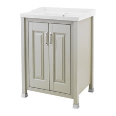 Old London Cabinet and Basin, Stone Grey