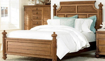 American Drew Grand Isle Island Queen Bed