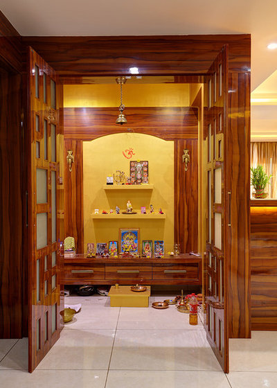 Puja Room Design: 35 Serene Puja Room Designs