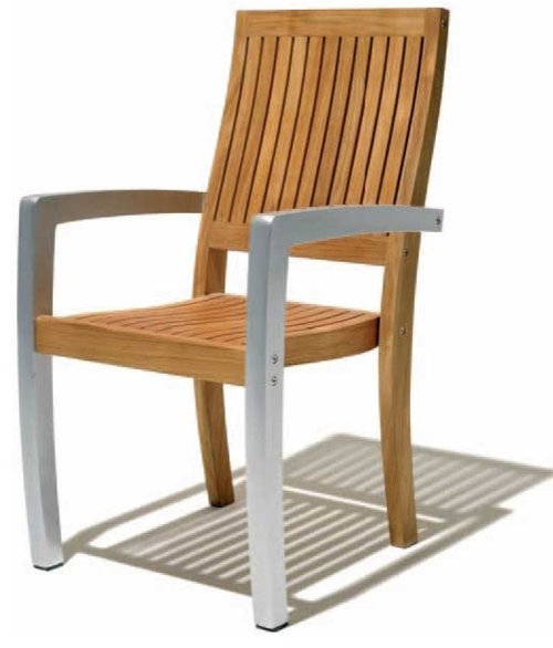 Modern Outdoor Metal Chairs Spacify