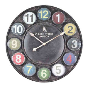 EMDE Tablet Wall Clock