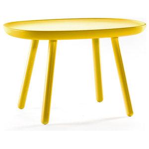 Naïve L610 Wooden Coffee Table, Yellow