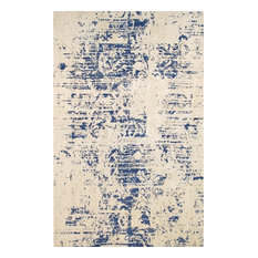 Modern Collection Hand-Tufted Microfiber Area Rug, 4'x6'