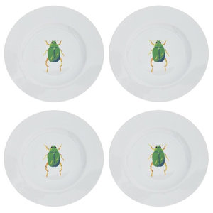 Beetle Side Plates, Set of 4