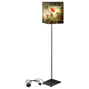 """One Hundred Years of Solitude"" Abat Book Floor Lamp"
