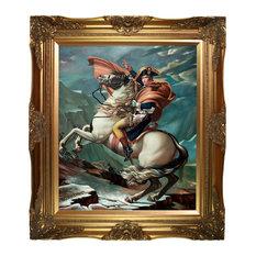 Napoleon Crossing the Alps, 1801