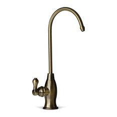 Antique Brass Kitchen Faucets Houzz