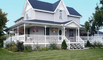 Folk Victorian built with vinyl siding
