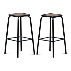 Chaises et tabourets de bar industriels - Tabouret de bar assise 65 cm ...