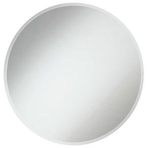"Elegant Modern 32"" Contemporary Mirror, Clear"
