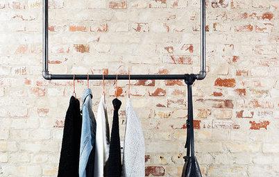 Råt og robust - sådan kan du indrette med møbler af vandrør