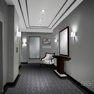Hallways for:  Les Residences Mont-Royal,  Tour Nord