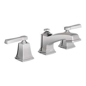 Moen Boardwalk Chrome Two-Handle Bathroom Faucet T6220