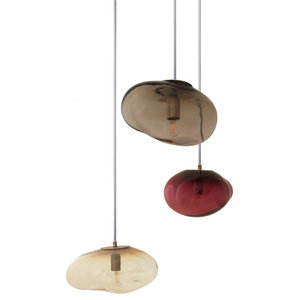 Hebe, Amor and Airisi Pendant Lamps, Set of 3