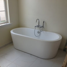Free Standing Tubs Replacing Large Platform Garden Tubs Bathtubs