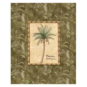 """Vintage Palm II"" Print by Charlene Audrey, 24""x30"""