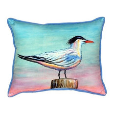 Royal Tern indoor or Outdoor Pillow