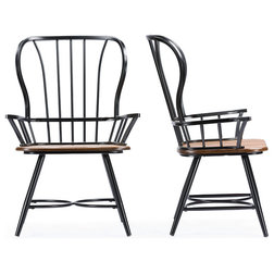 Industrial Dining Chairs by Baxton Studio