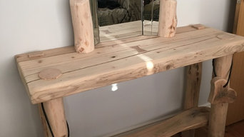 rustic style dressing table