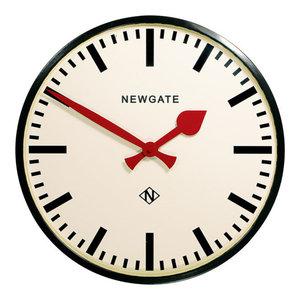 Newgate Putney Wall Clock, Black