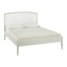 Ashby Cotton Painted Slatted Bedstead, Double