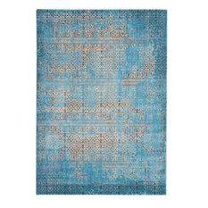 """Nourison Karma Rug, Blue, 7'10""""x10'6"""""""
