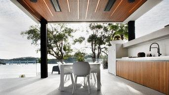 Contemporary Bamboo Cladded Villa