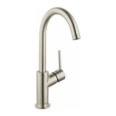 hansgrohe usa talis s single hole 1handle high arc bathroom faucet brushed