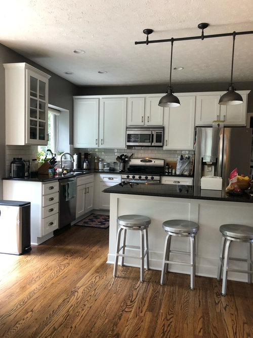 Help With Too White Cabinets