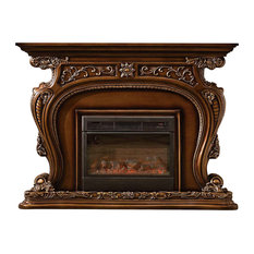 Augustine Fireplace Mantle   Indoor Fireplaces