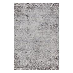 "Torino 3315-100 Area Rug, White, 6'7""x9'6"""
