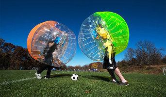 Free Shipping, 1.5 PVC Bubble Soccer Ball, Bumper Balls For Sale