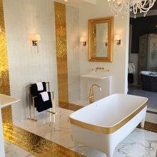 The Gold Bathroom