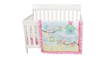 Garden Song Crib Bedding Set from Baby's First by Nemcor