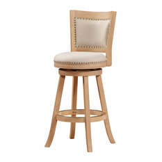Boraam Industries Inc. - Melrose Bar Stool Driftwood Cream - Bar Stools and  sc 1 st  Houzz & Swivel Bar Stools and Counter Stools | Houzz islam-shia.org