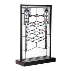Frank Lloyd Wright Robie Stained Glass Suncatcher